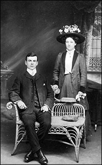 Arthur William & Bertha Eyles about 1919