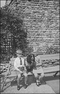 John & Kath near the house c1935