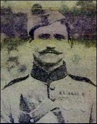 George Jolley in uniform