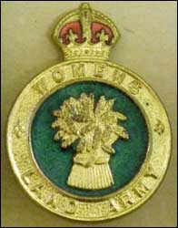 Land Army Badge
