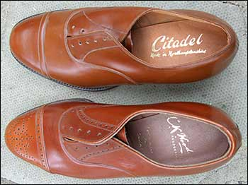 C K Woods sample shoes