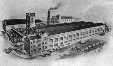 The factory built in 1901