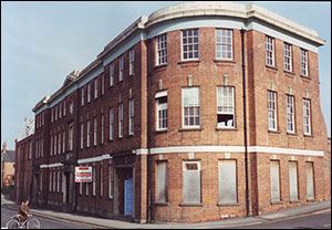 In the 1990's it was converted into flats