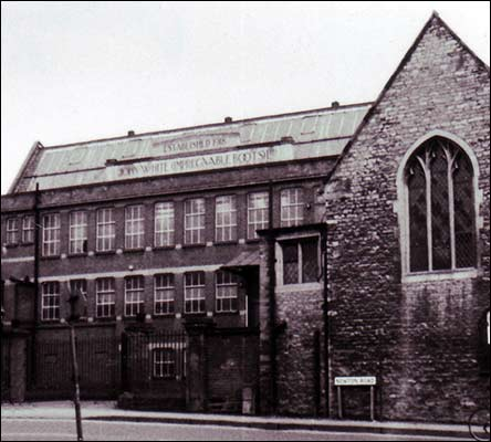 Newton Road factory in the 1960s