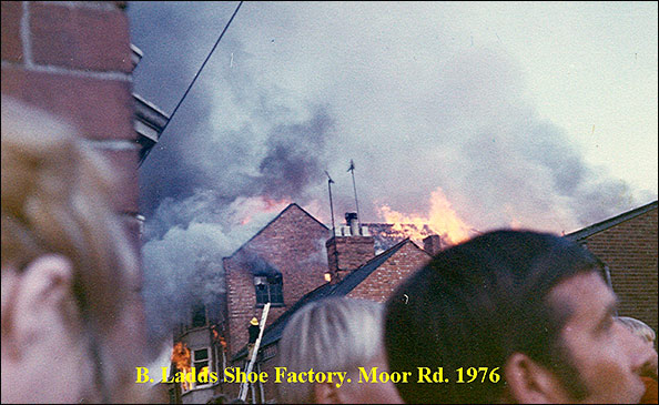 The fire in 1976