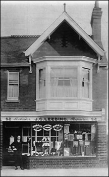 The shop in Station Road in the 1920's