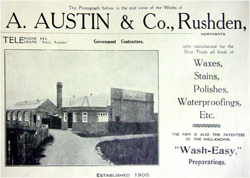 A Austin's factory from the Northampton Independent Magazine 1923