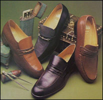 Grenson's shoes on display