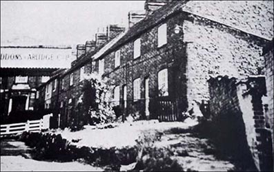 Orchard Place, between the High Street and Rectory Road.