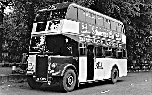 Picture showing Birch Bros 203 London to Rushden