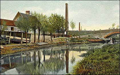 Higham Wharf from a postcard