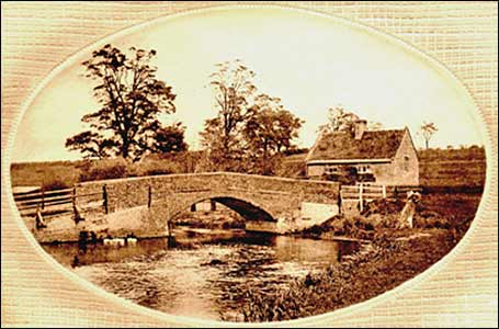 The Wharf bridge 1900