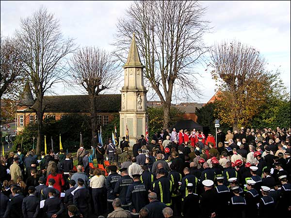 The Cenotaph Service of Remembrance 2008