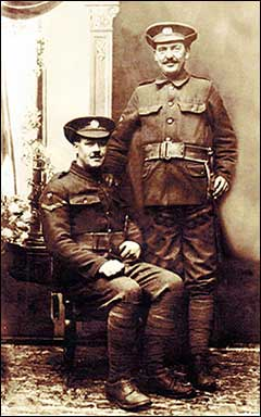 Pte H Glidle and brother