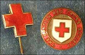 stick pin and badge