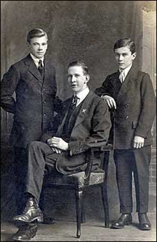 Herbert and two Belgians